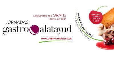 Todo a punto para una nueva edición de GastroCalatayud, del 5 al 9 de abril