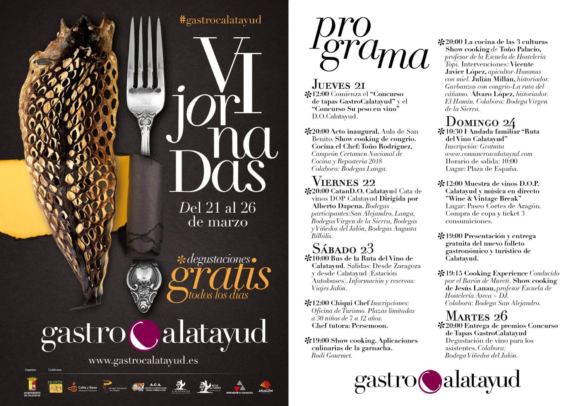 GastroCalatayud 2017 programa Online