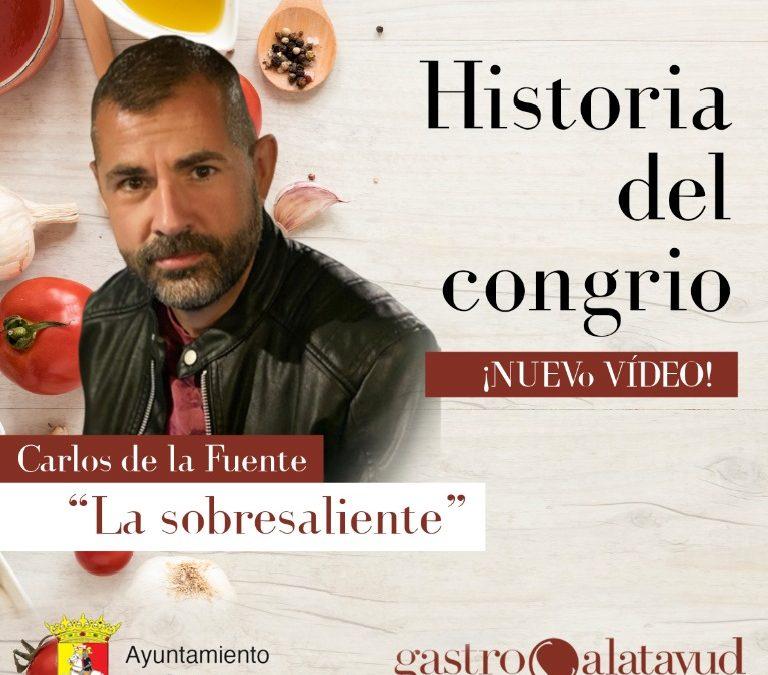 #GastroCalatayud La historia del congrio con Carlos de la Fuente