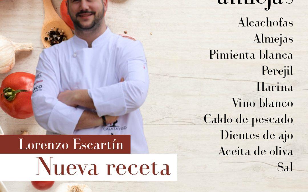 Cocinamos alcachofas con almejas con Lorenzo Escartín